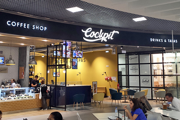 COCKPIT, Airport Concessions, Ibersol Group